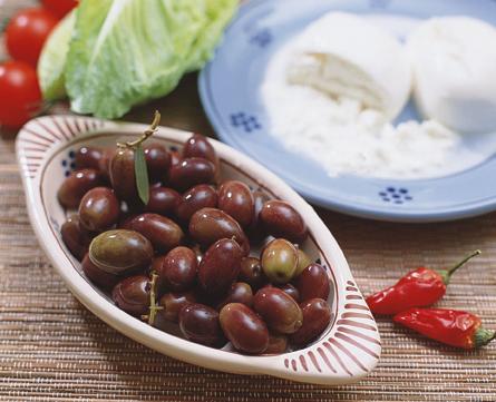 olive in acqua leccina